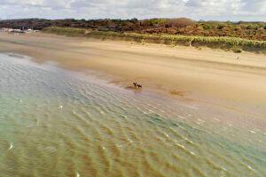 Schitterend strand op 400 meter afstand
